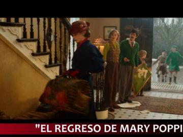 Mary Poppins, Aquaman y Spiderman conviven en los estrenos con la última Palma de Oro