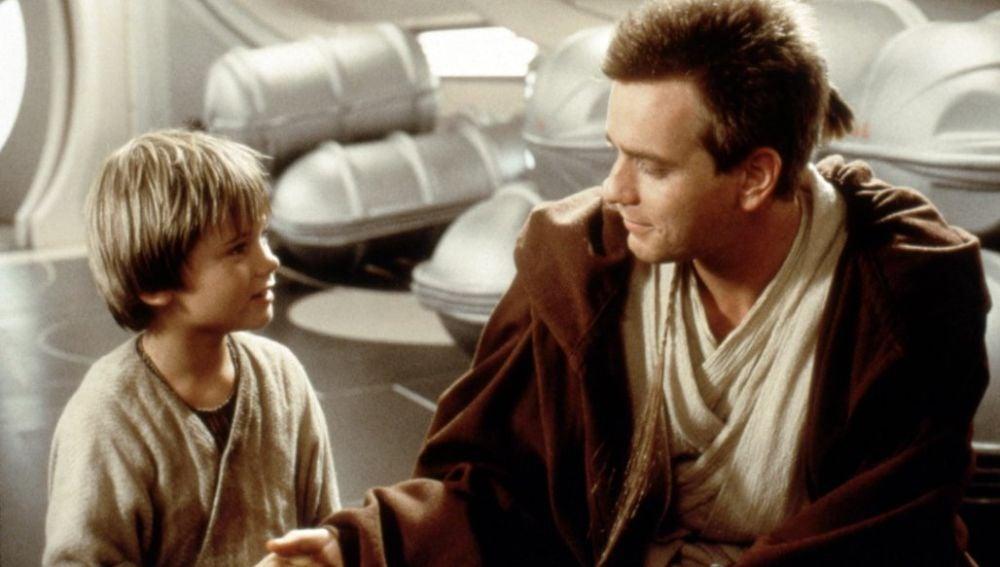El joven Anakin Skywalker