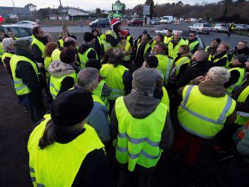 Protesta de los 'chalecos amarillos'