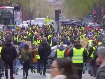 Un muerto en un accidente junto a una protesta de los 'chalecos amarillos' en Perpiñán