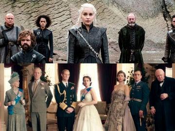 'Juego de Tronos' y 'The Crown'
