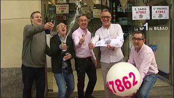El 47.862, el 07.568, el 68.402 y el 29.031, quintos premio de la Lotería de Navidad 2018