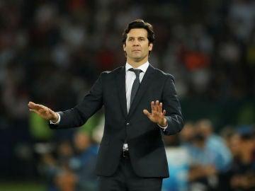 Solari pide calma en el partido contra el Al Ain
