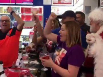 Celebraciones en toda España por un Gordo muy repartido