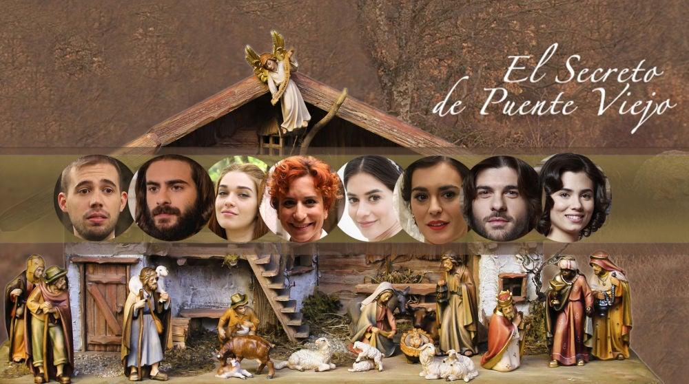 Así serían los personajes de Puente Viejo si protagonizaran el Belén de Navidad