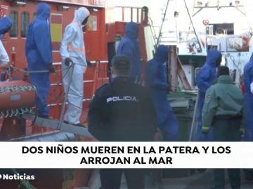 Mueren dos niños y 69 personas son rescatadas en el mar de Alborán