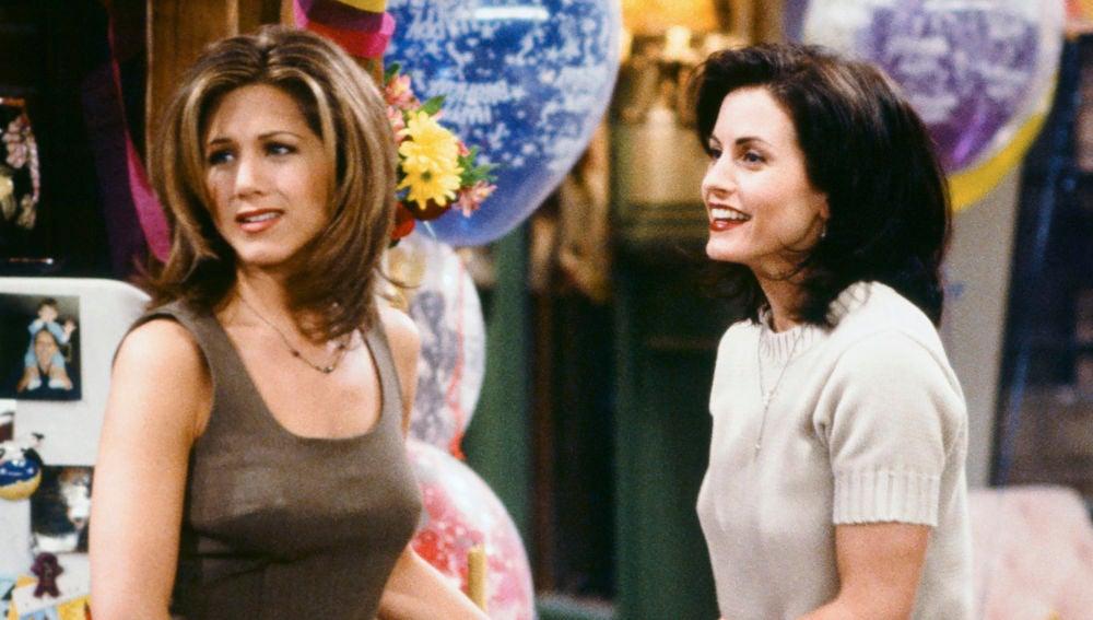 Rachel Green y Monica Geller de 'Friends'
