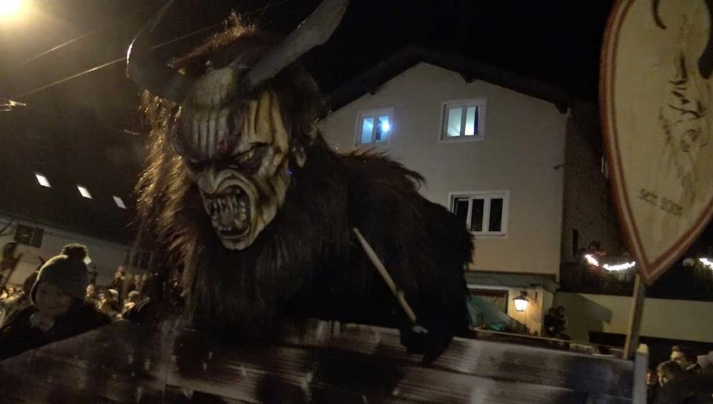 Celebración del Krampus en Salzburgo