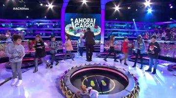 Segunda ronda de '¡Ahora Caigo!' Especial Niños
