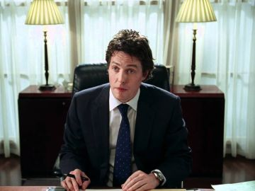 Hugh Grant en 'Love Actually'