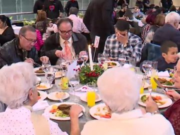 Cena solidaria en Madrid