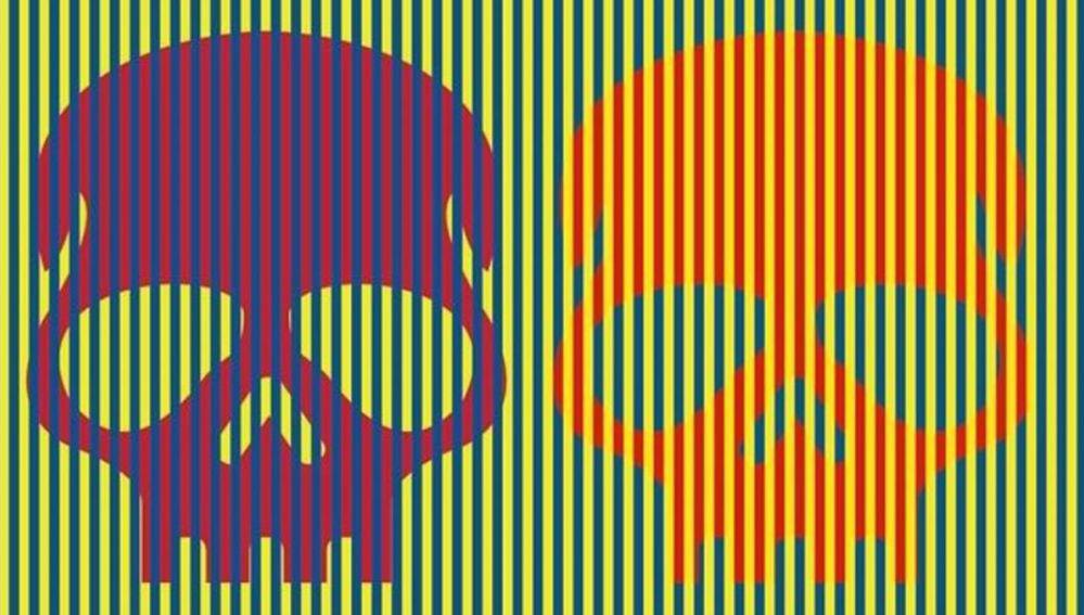 Imagen de la ilusión óptica