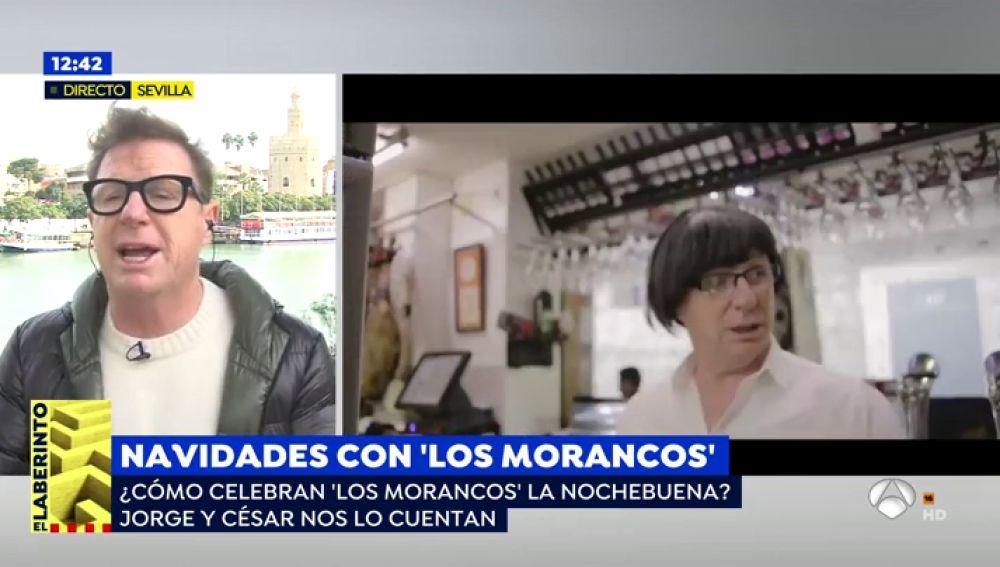 Jorge Cadaval, de Los Morancos, invita a ver su próximo espectáculo navideño