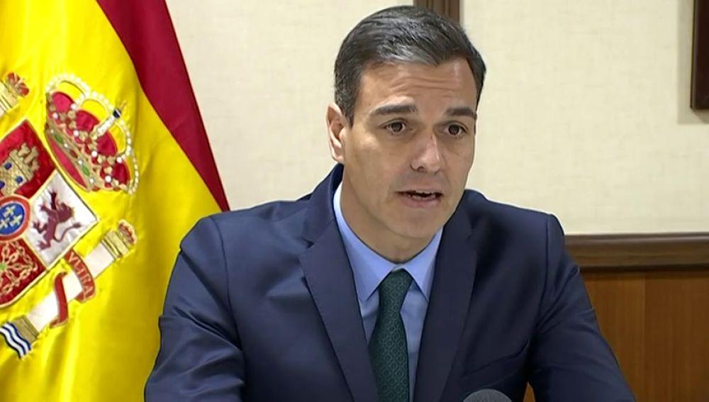 """Sánchez valora el """"tremendo esfuerzo"""" de las tropas españoles en sus misiones en el exterior"""