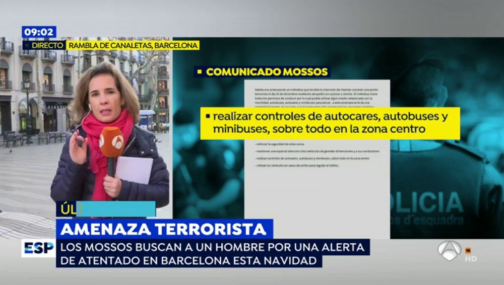 Nacho Abad devela que los Mossos identifican al hombre que podría estar planeando un atentado terrorista en Barcelona