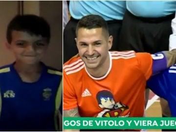 El partido solidario de Vitolo y Viera por Yeray