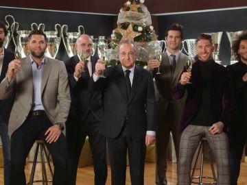 """La felicitación navideña del Real Madrid: """"Hemos vivido algo que no había ocurrido nunca"""""""