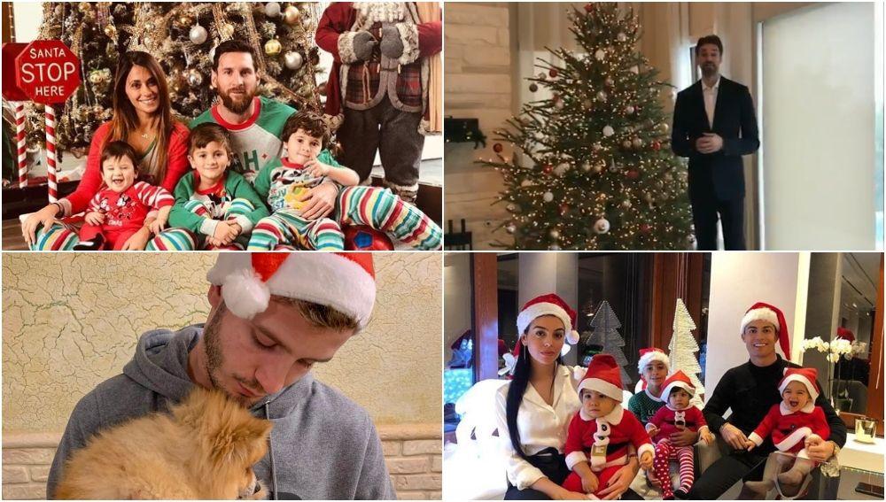 La Navidad de los deportistas
