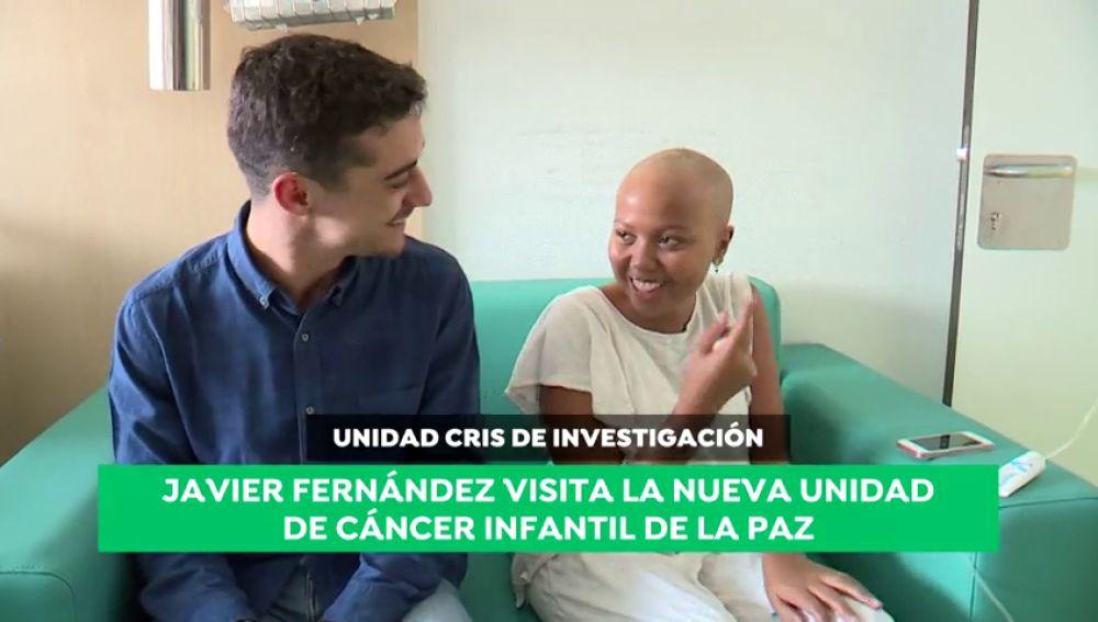 """Javier Fernández visita la nueva unidad de cáncer infantil de La Paz: """"Hay que dar las gracias a muchas personas por hacer esto posible"""""""