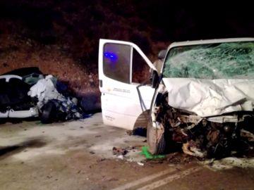 Mueren dos jóvenes de 18 y 20 años en un accidente de tráfico en Puente de Génave