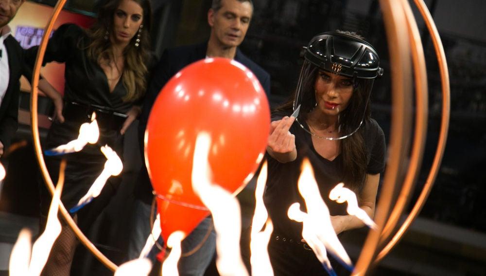 La espectacular explosión con una carta de Pilar Rubio en 'El Hormiguero 3.0'
