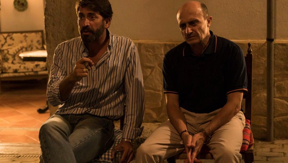 Francisco chantajea a su cuñado Alfonso tras la amenaza de Salvador