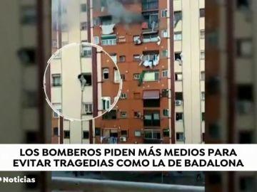 REIVINDICACIÓN BOMBEROS