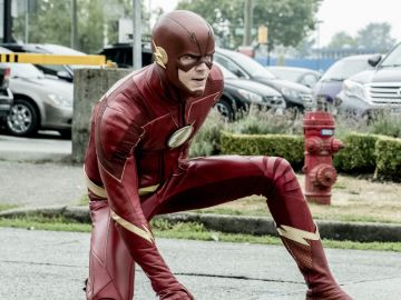Grant Gustin en 'The Flash'