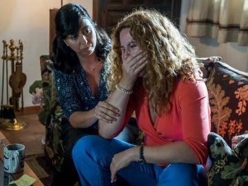 """Almudena descubre que Francisco le engaña: """"¿Cómo se atreve a ponerme los cuernos a mí con el cuerpo que tengo a mis años?"""""""