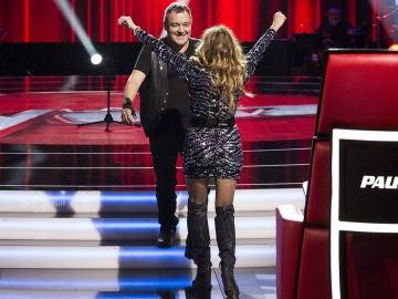 """VÍDEO: Paulina Rubio, orgullosa de tener a Andrés Balado en su equipo: """"Lo que más me gusto de él es que hizo suya la canción"""""""