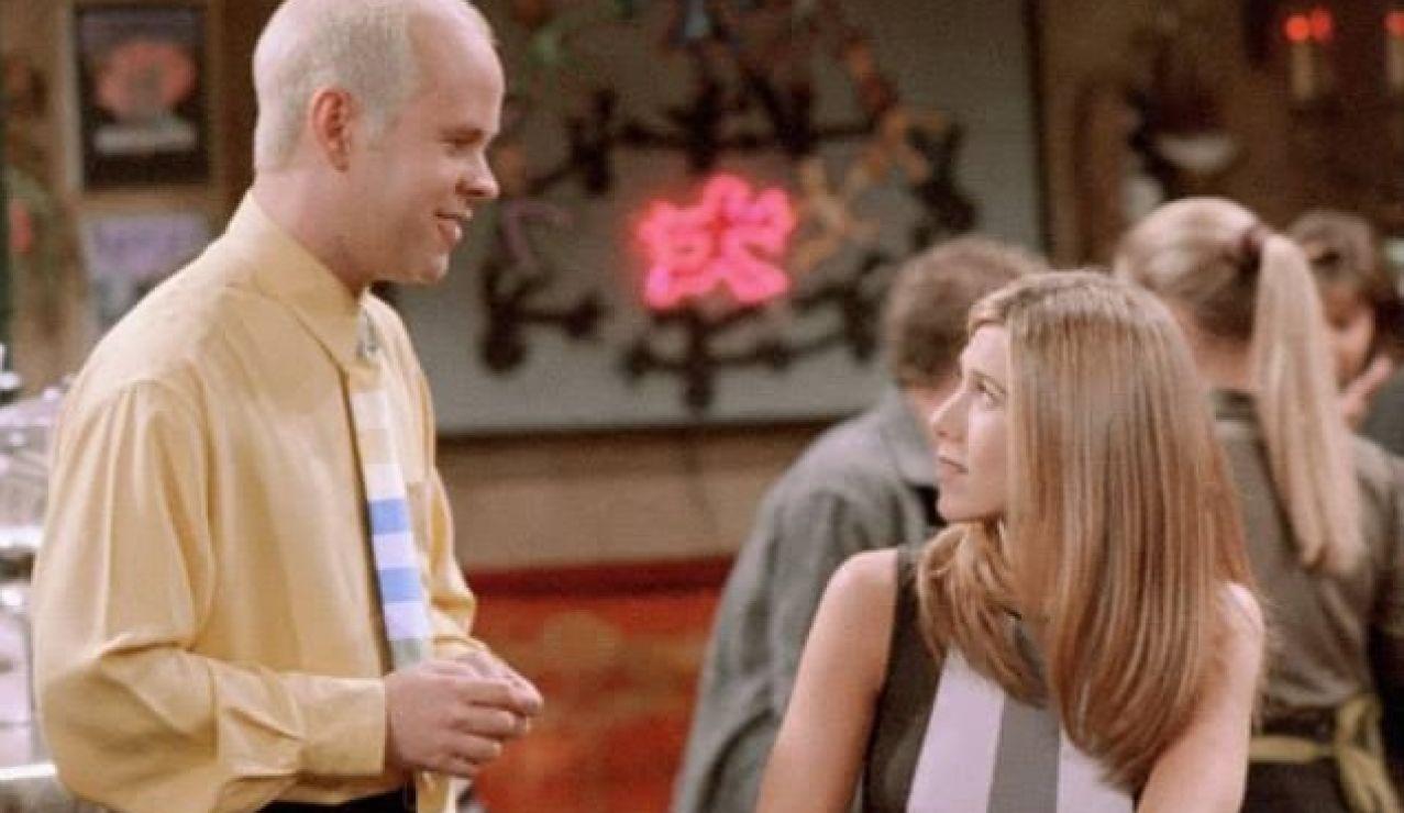 Gunther y Rachel en 'Friends'