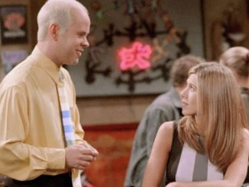 Gunther y Rachel en 'Friends'