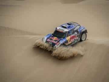 Carlos Sainz, en la etapa 3 del Dakar