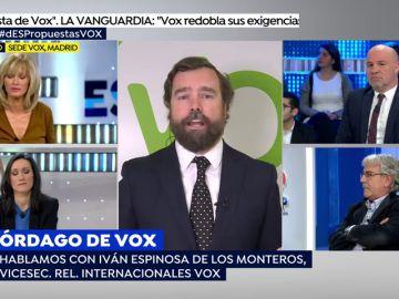"""El vicesecretario de Relaciones Internacionales de Vox: """"Yo creo que ser mujer no es una enfermedad"""""""