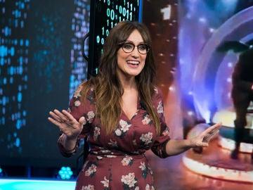 """VÍDEO: El """"ejercicio por los pelos"""" más divertido presentado por Ana Morgade en 'El Hormiguero 3.0'"""