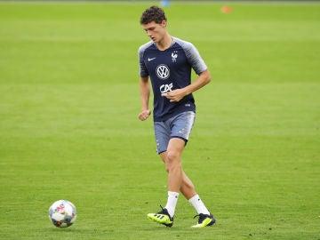 Benjamin Pavard, con la selección de Francia