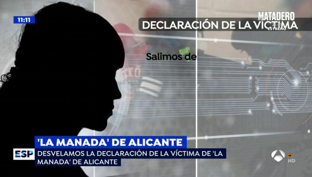 """La estremecedora declaración de la víctima de 'La Manada de Alicante': """"Me sujetaron la cabeza contra el suelo y me rompieron la ropa"""""""
