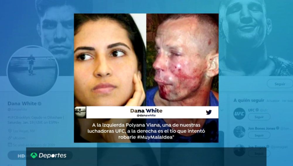 El carísimo error de un atracador: trató de robar a una luchadora de la UFC y acabó destrozado