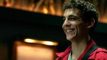 Miguel Herrán como Río en 'La Casa de Papel'