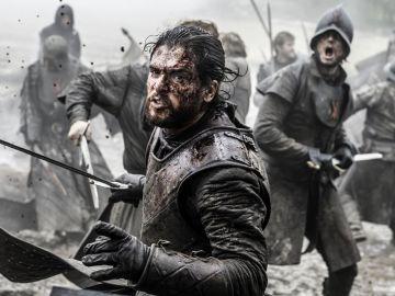 Kit Harington como Jon Snow en 'Juego de Tronos'