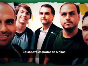 """Millones de brasileño siguen en redes el """"show"""" de los Bolsonaro"""