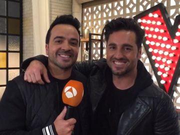 Luis Fonsi y David Bustamante