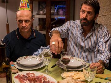 Pepe Viyuela y Antonio Garrido en 'Matadero'