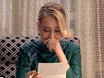 Luisita, muere de amor al leer la carta de Amelia