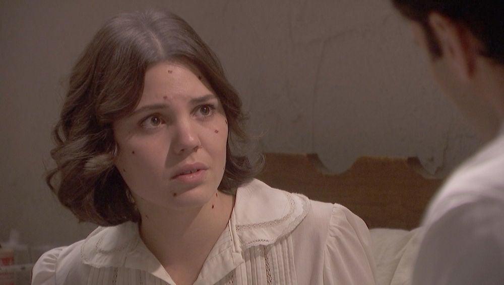 La posible y grave enfermedad de Camelia preocupa a Marcela