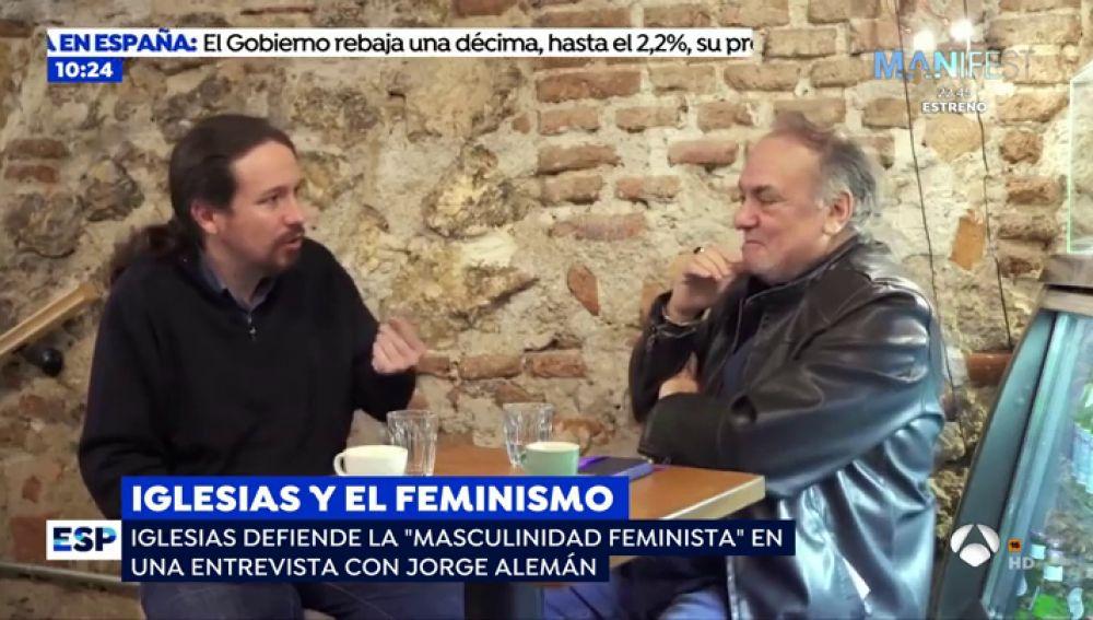 """Las controvertidas declaraciones de Pablo Iglesias: """"Los hombres feministas follan mejor"""""""