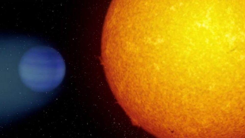 Científicos españoles descubren una exoplaneta que podría tener agua líquida