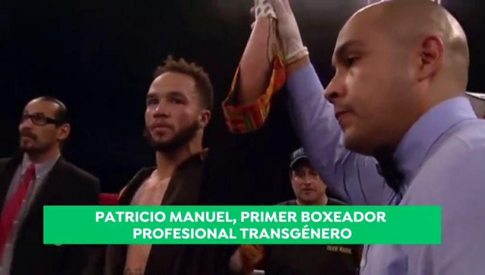 La historia de Patricio Manuel, el primer boxeador profesional transgénero