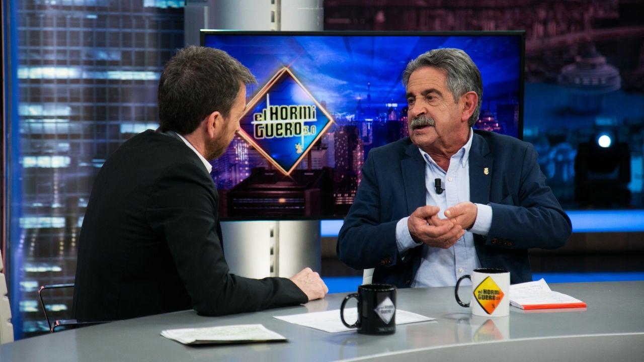 """VÍDEO - EL HORMIGUERO 3.0: Miguel Ángel Revilla se pronuncia contra el 'bullying': """"Yo a los 16 años era un tipo acomplejado, sometido al escarnio"""""""