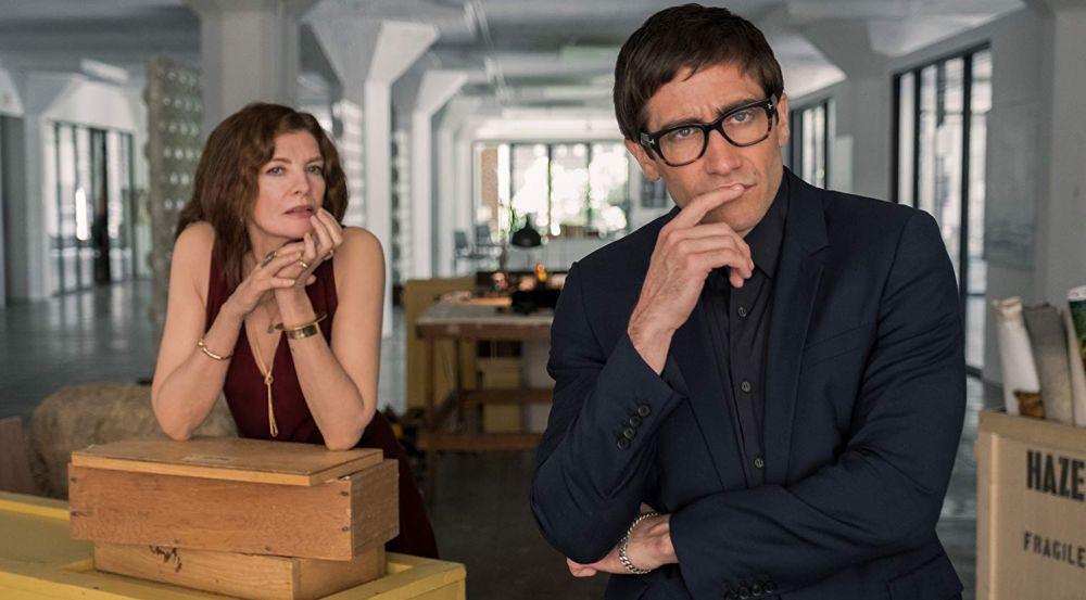 Rene Russo y Jake Gyllenhaal en 'Velvet Buzzsaw'
